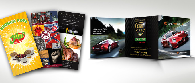 Quick turnaround on brochures, flyers & leaflets