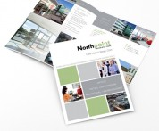 Folded Brochures, Graphic Designers, Cork, Upper Case