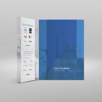 Interlocking folders, Upper case, Graphic Design, Print, Cork