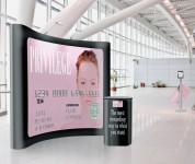 Magnetic panel pop ups. Graphic design, exhibition, printing, Cork. Upper Case