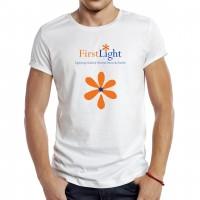 FirstLight Logo Design, Upper Case, Graphic Design, Cork