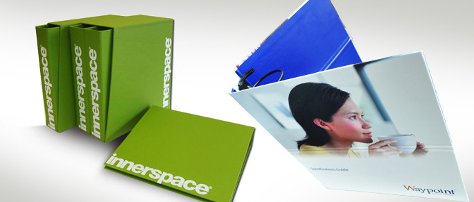 Folders and binders. Printing. Upper Case Cork