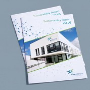 Brochures and Newsletters, Cork Design Upper Case