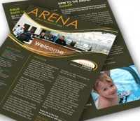 Newsletter Design Upper Case