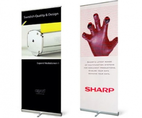 replacement graphics, Cork, exhibition display stands, Upper Case