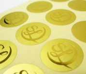 Sheet Labels, Printing, Graphic design, Cork. Upper Case