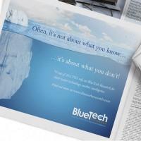 Print media advert Upper Case