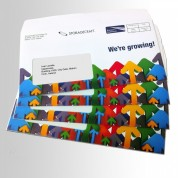 Printed Envelopes, Direct Mail Upper Case