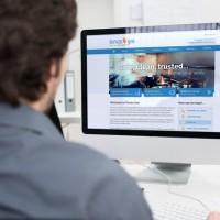 Tervas Gas Website Design, Upper Case