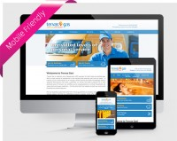 Web design Upper Case Tervas