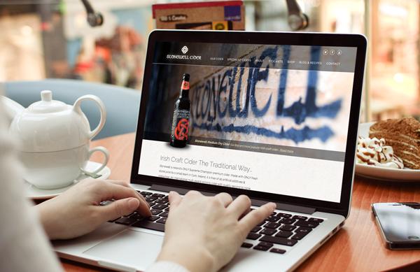 Stonewell Cider web design