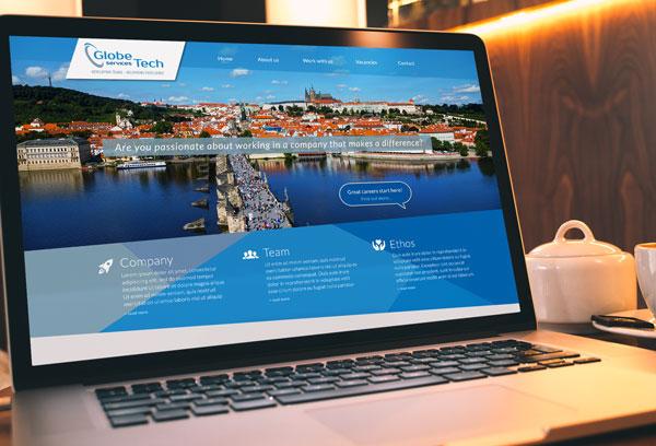 Globe Tech web design