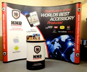 Magnetic Pop Ups, Exhibition display solutions Cork by Upper Case
