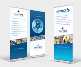 Roll Ups, Exhibition display solutions Cork by Upper Case