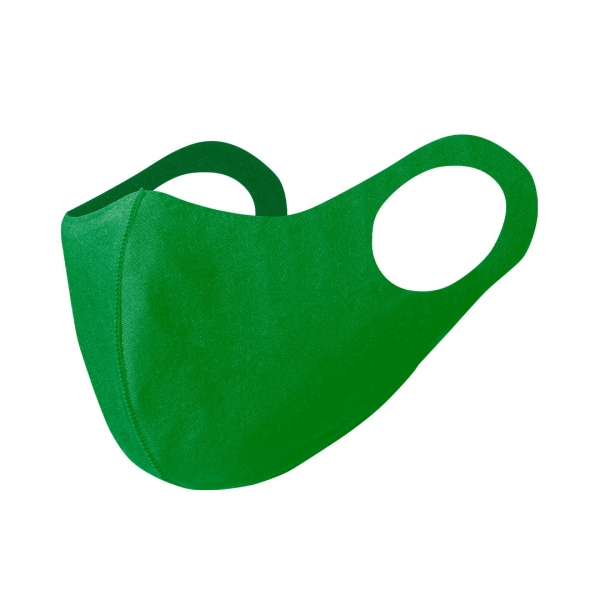 reusable face mask green
