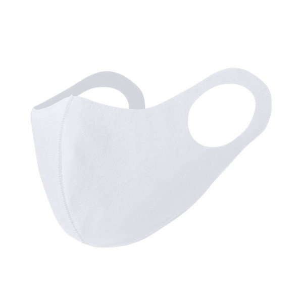 reusable face mask white